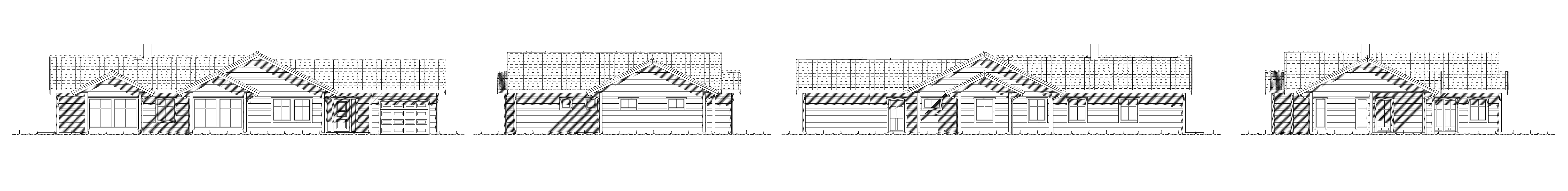 Koppefjellet fasade