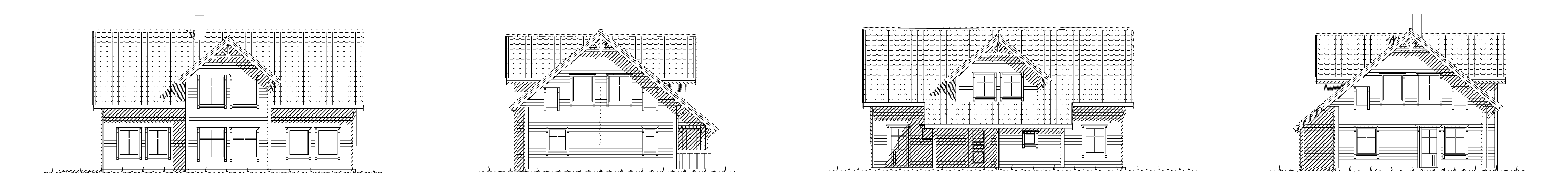 Saudehornet fasade